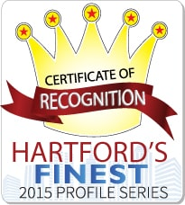 Solinsky EyeCare Hartford's Finest 2015 Award